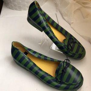 Kate Spade rubber rain shoes